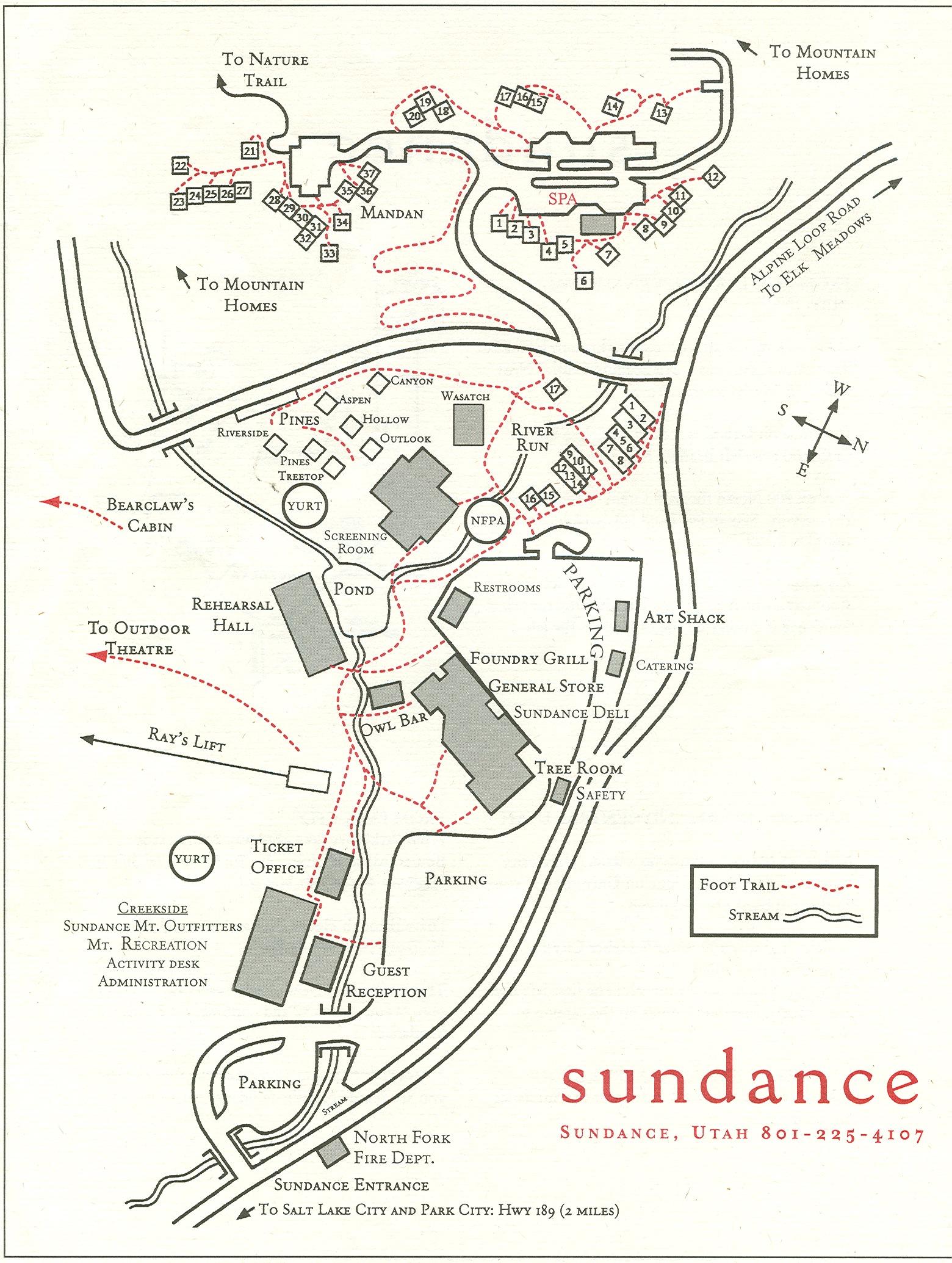The Sundance Utah Area